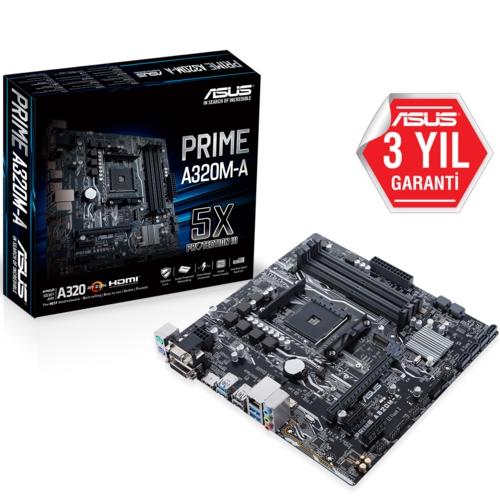 Asus Prime A320M-A DDR4 S+V+GL AM4 (mATX)