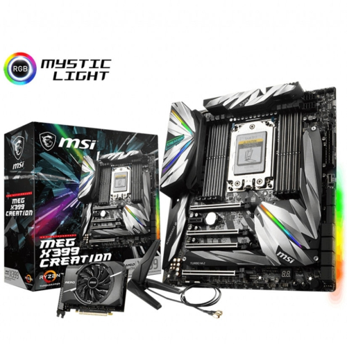MSI MEG X399 CREATION DDR4 3600Mhz SocketTR4