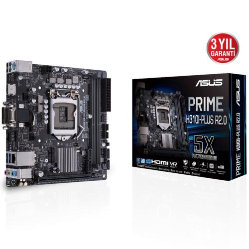 Asus PRIME H310I-PLUS R2.0 DDR4 S+V+GL 1151V2