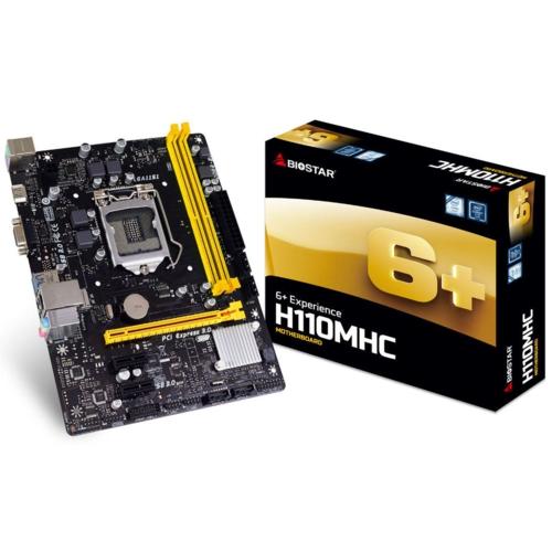 Biostar H110 MHC DDR4 S+V+GL 1151p (mATX)
