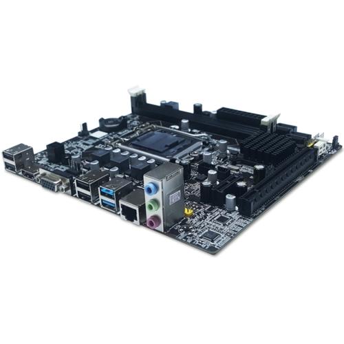 Quadro H61-B75U3 v4 DDR3 S+V+L 1155p (mATX)