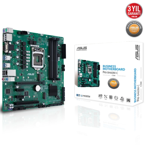 Asus PRO B460M-C/CSM DDR4 2933 S+V+GL 1200p