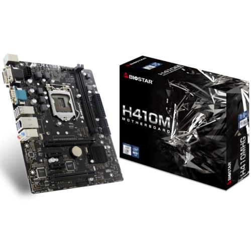 Biostar H410MHG DDR4 S+V+GL HDMI MATX LGA1200p