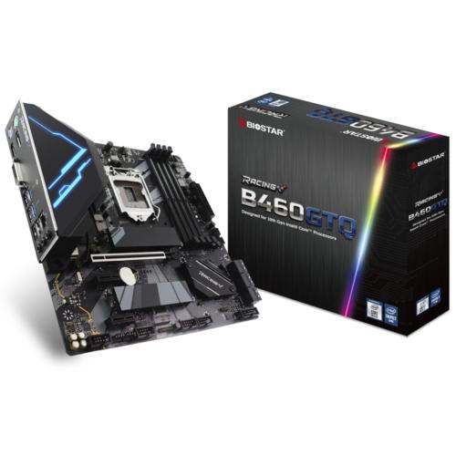 Biostar Racing B460GTQ DDR4 2933 S+V+GL MATX 1200p