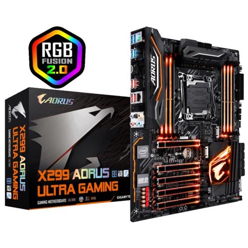 Gigabyte X299 AORUS Ultra Gaming DDR4 2066p (ATX)