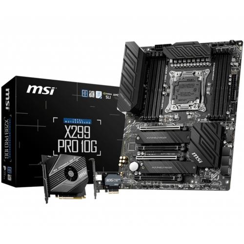 MSI X299 PRO 10G DDR4 S+GL 2066p (ATX)