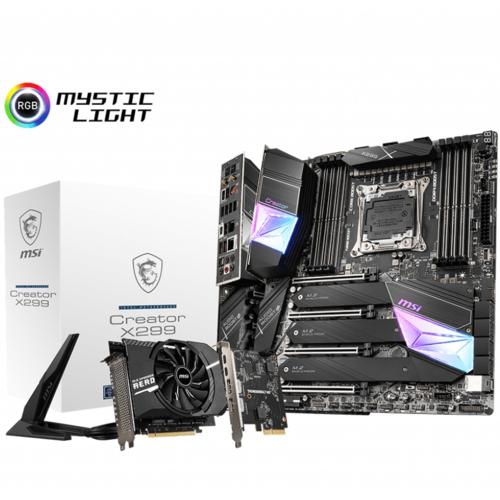 MSI CREATOR X299 DDR4 S+GL 2066p (EATX)