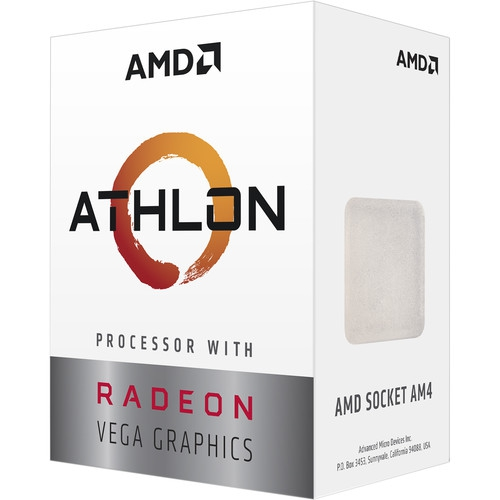 AMD Athlon 3000G 3.5GHz 4MB AM4
