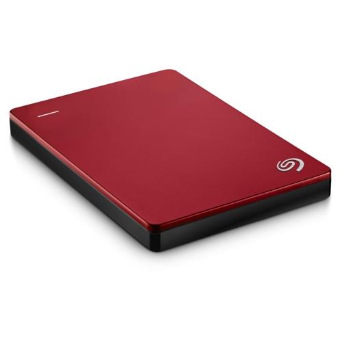 Seagate 2.5 2TB BP Slim USB3.0 Kırmzı STDR2000203