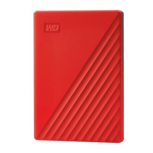 WD 2.5 2TB My Passport WDBYVG0020BRD Kırmızı