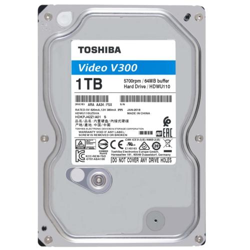 Toshiba 3,5 V300 1TB 64MB 5700RPM HDWU110UZSVA