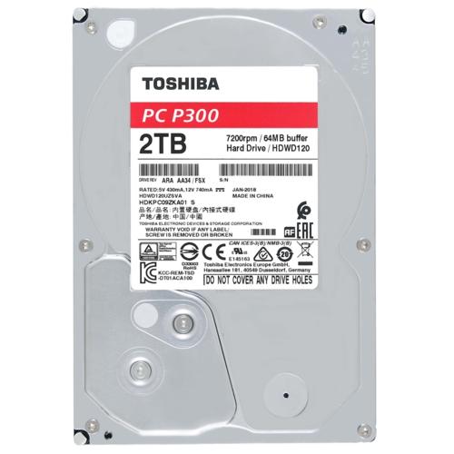 Toshiba 3,5 P300 2TB 64MB 7200RPM HDWD120UZSVA