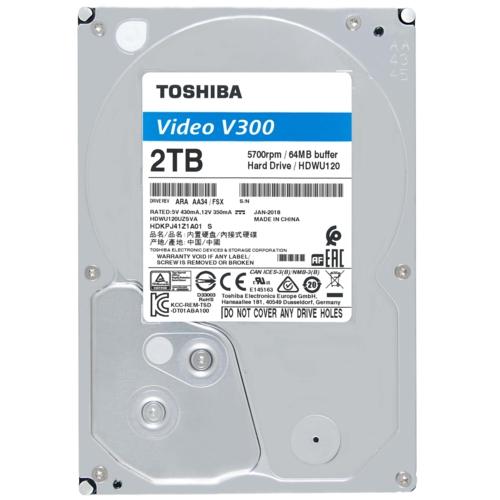 Toshiba 3,5 V300 2TB 64MB 5700RPM HDWU120UZSVA