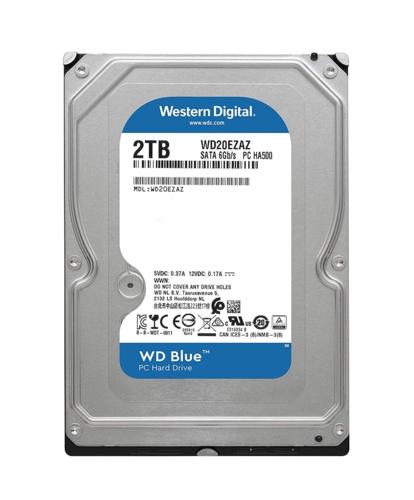 WD BLUE 3,5 2TB 64MB 5400RPM WD20EZAZ