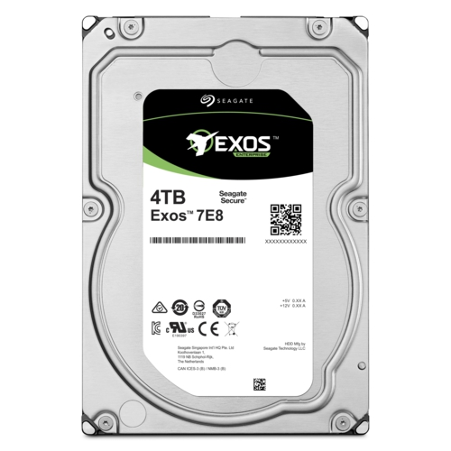 Seagate EXOS 3.5 4TB Enterprise ST4000NM000A