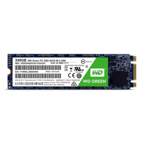 WD 240GB Green Series SSD m.2 Sata WDS240G2G0B