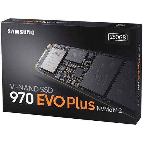 Samsung 970 EVOPLUS 250GB SSD m.2 NVMe MZ-V7S250BW