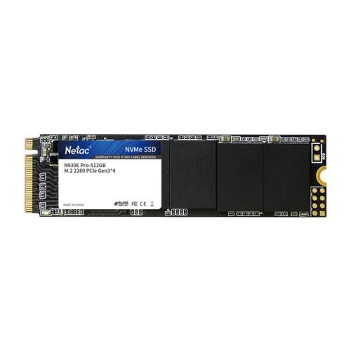 Netac N930E 512GB SSD m.2 NVMe SSD NT01N930E-512G
