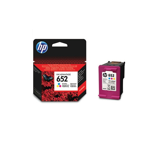 HP F6V24AE Mürekkep Kartuş 3 Renkli (652)