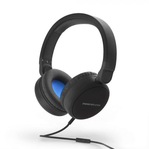 Energysistem Style 1 Mikrofonlu Kulaklık Siyah