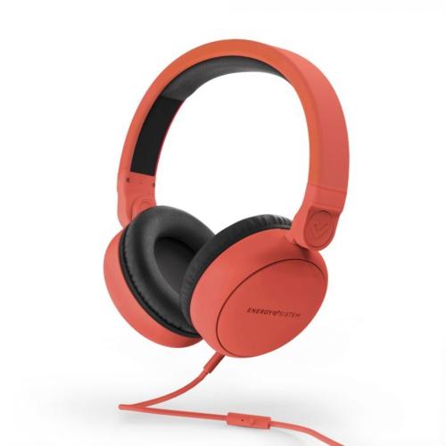 Energysistem Style 1 Mikrofonlu Kulaklık Kırmızı