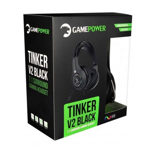 Gamepower Tinker V2 Siyah 7.1 Titreşimli Kulaklık