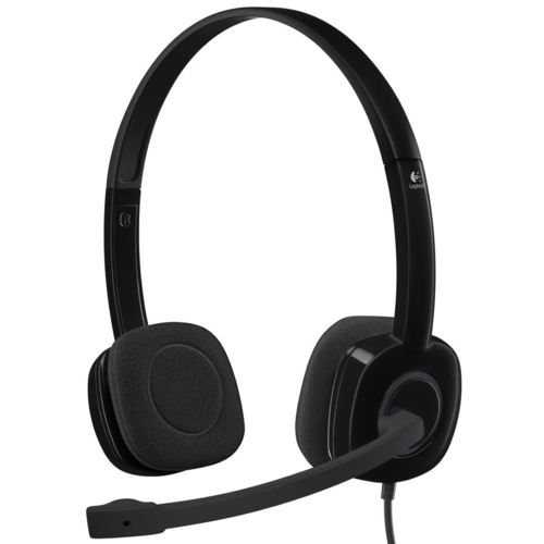 Logitech H151 Mic. Kulaklık Tek Jak 981-000589