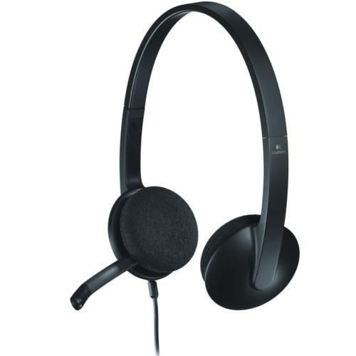 Logitech H340 Mikrofonlu Kulaklık Siyah 981-000475