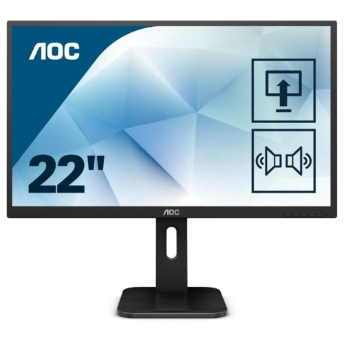 AOC 21.5 22P1 LED MM Monitör 5ms Siyah
