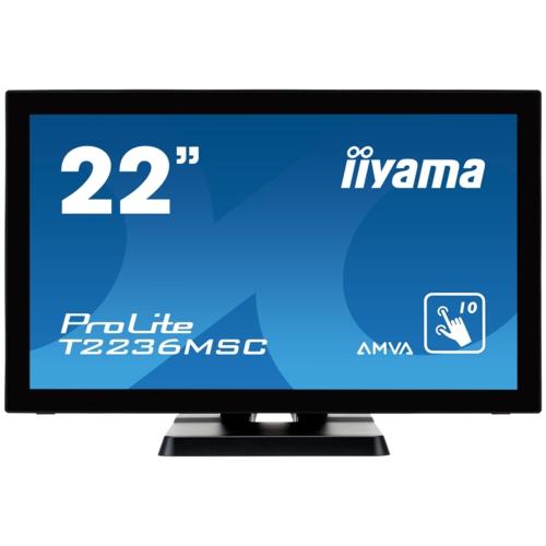 IIYAMA 21.5 T2236MSC-B2 Capacitive Dokunmatik