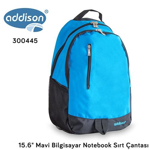 Addison 300445 15.6 Mavi Notebook Sırt Çantası