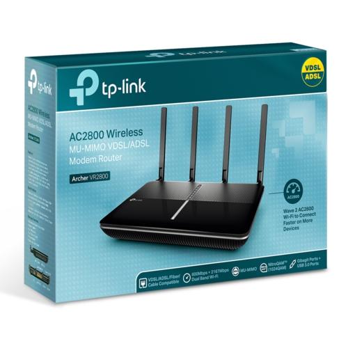TP-Link Archer VR2800 AC2800 VDSL/ADSL Modem Route