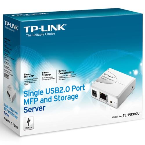 TP-Link TL-PS310U 1USB 2.0MFP/Storage Print Server