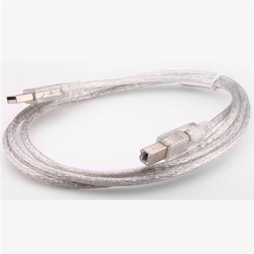 S-link SL-U2003 Usb2.0 3m Şeffaf Yazıcı Kablo
