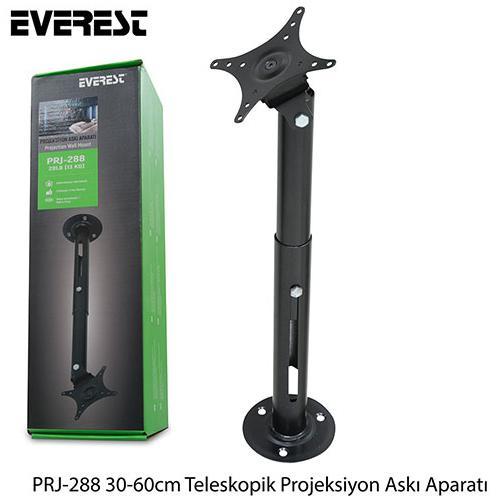 Everest PRJ-288 Teleskopik Askı Aparatı 30-60 Cm