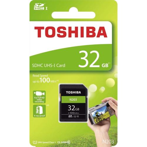 Toshiba 32GB SDHC UHS-1 C10 THN-N203N0320E4