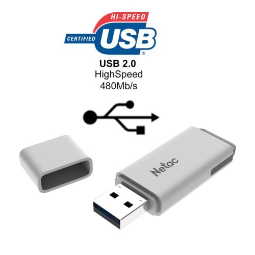 Netac U185 16GB USB2.0 NT03U185N-016G-20WH
