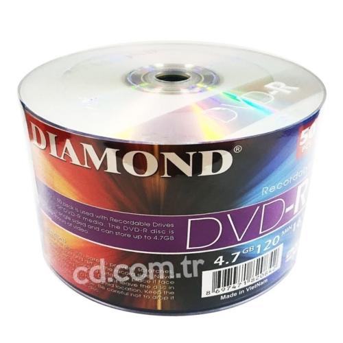 DIAMOND BOŞ DVD 50'Lİ PAKET