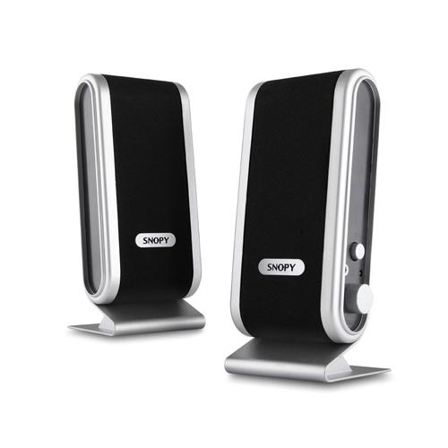 Snopy SN-820 1+1 Speaker Siyah/Gümüş USB