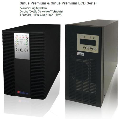 Inform Sinus Premium 1KVA UPS (2x 7AH) 4-9dk