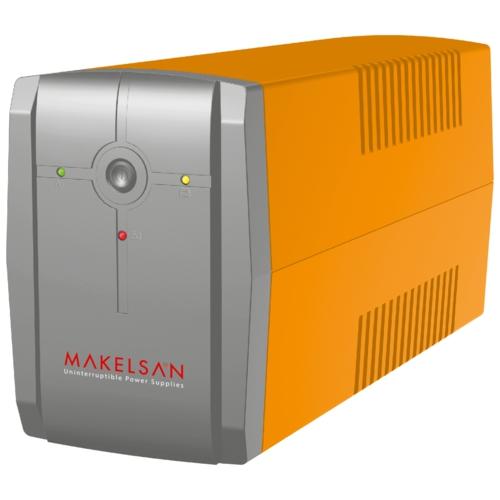 MAKELSAN LION X 650VA USB (1x 7AH) 5-10dk