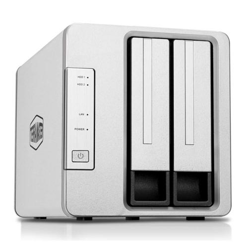 TerraMaster F2-210 Quad-Core1GB 2 Disk Yuvalı Nas