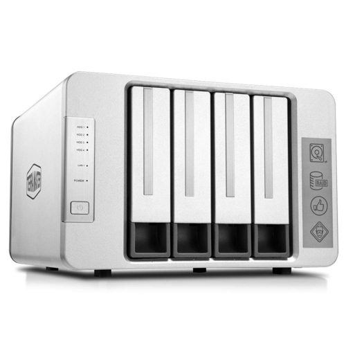 TerraMaster F4-210 Quad-Core 1GB 4 Disk Yuvalı Nas
