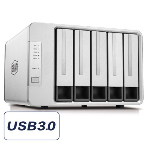 TerraMaster D5-300 5 Disk Yuvalı DAS Cihazı