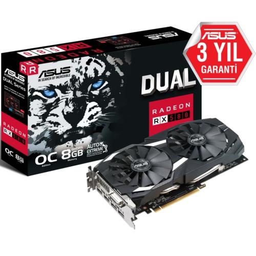 Asus DUAL-RX580-O8G-GAMING 8GB 256Bit DDR5