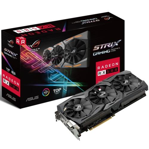 Asus STRIX RX580-T8G GAMING 8GB 256bit GDDR5