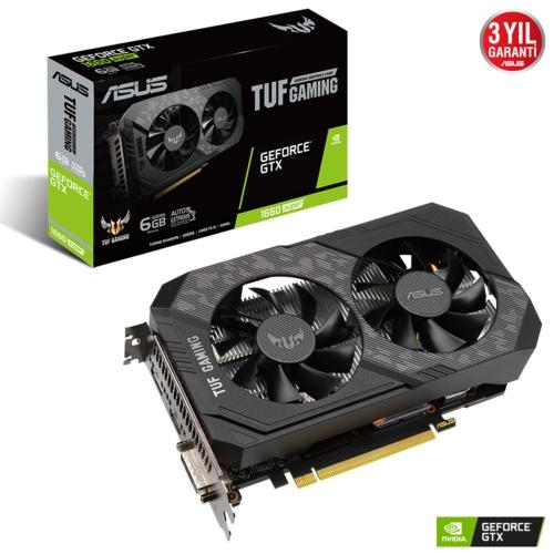 Asus TUF GTX1660S-6G GAMING 6GB 192Bit GDDR6