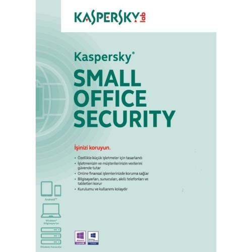 Kaspersky Small Office Sec. 1+5 Dvd Kutu 3 YIL