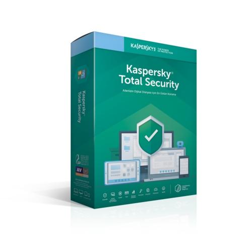 Kaspersky Total Security 3 Kullanıcı - 1 YIL