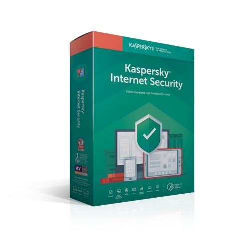 Kaspersky Internet Security - 2 Kullanıcı DVD Kutu